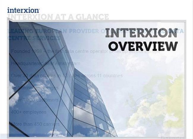 Telecom Broker Resources,Interxion Webinar