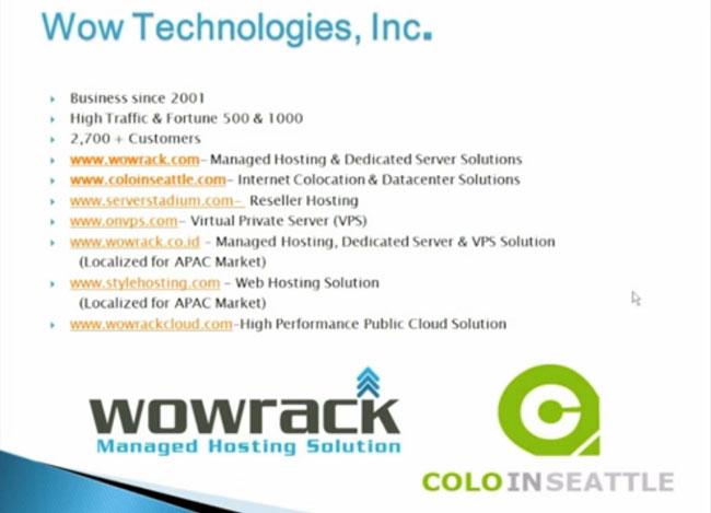Telecom Broker Resources,WowRack webinar