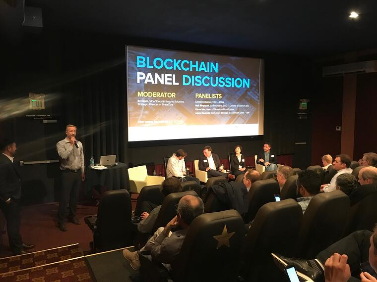 StrataCore blockchain panel