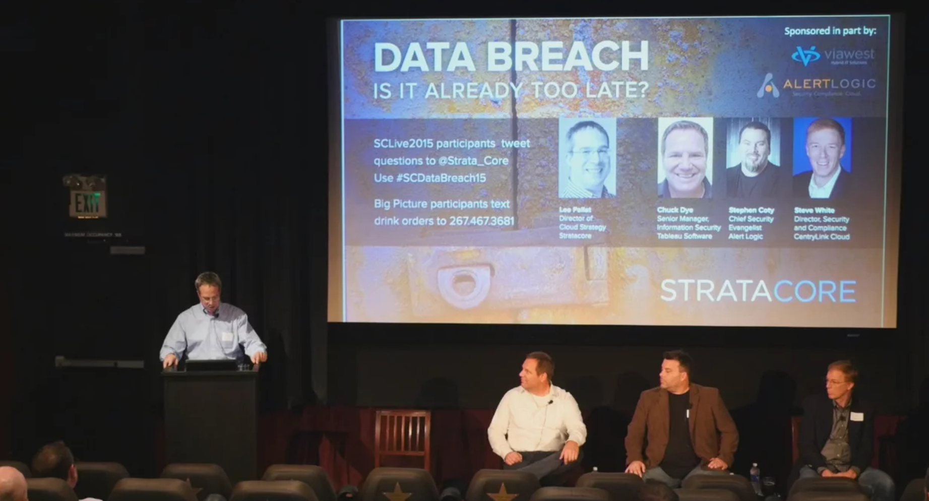 Data Breach panel discussion