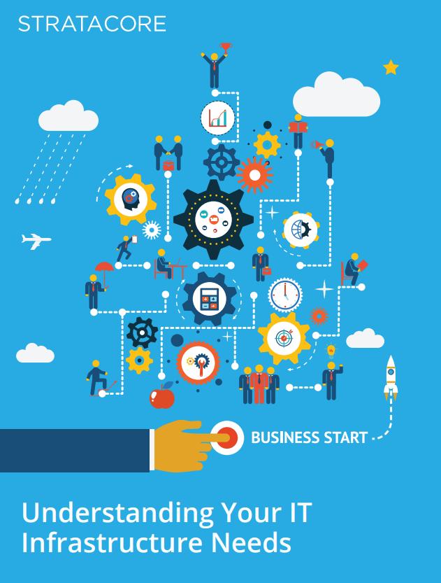 Understanding your infrastructure needs e-book
