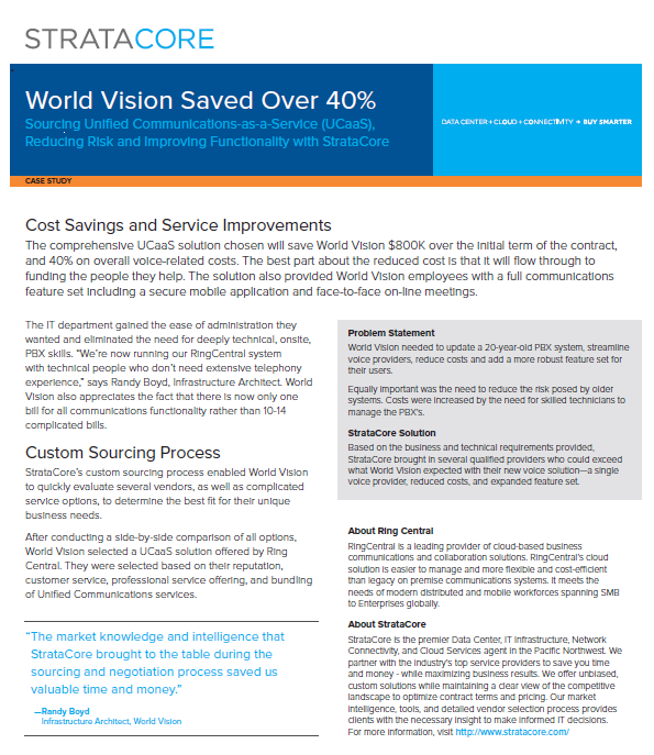 world vision case study Building on their storyteller presentation at the 2017 shared value forum, our member world vision australia have released two new case studies on their shared value work around the world.
