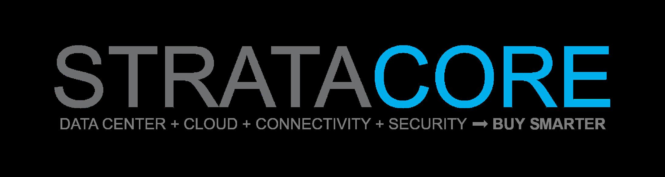 StrataCore Logo - 2020 New Tagline